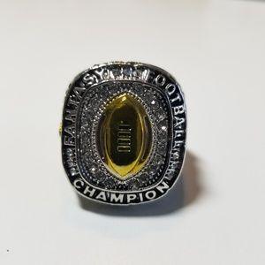 2018 Fantasy Football Championship Ring